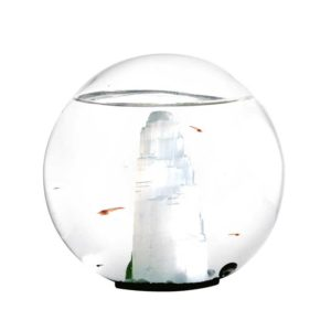 Beachworld mini biosphere Selenite Sphere 12 cm